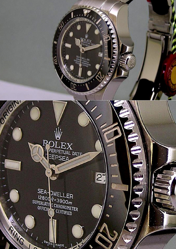Rolex Sea-Dweller 116600 modèle original