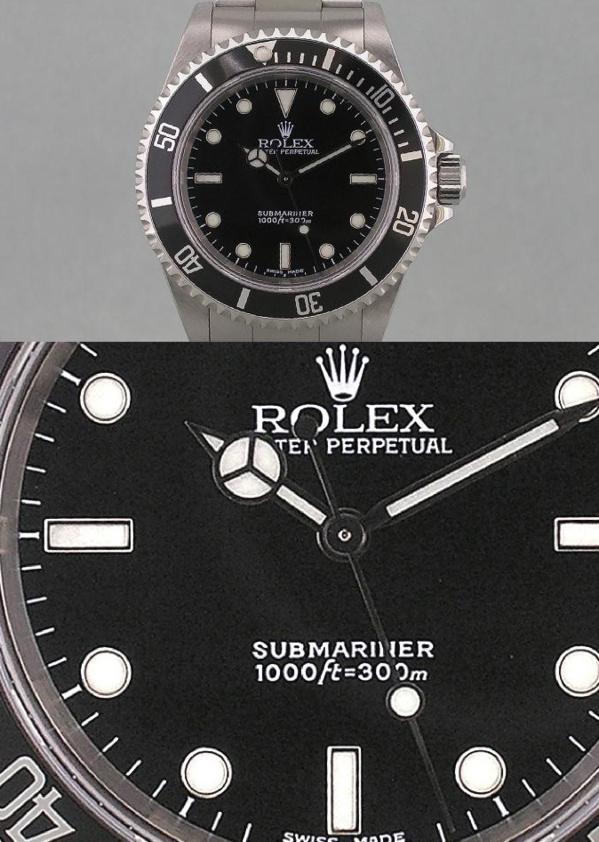 Rolex Submariner 14060 modèle original