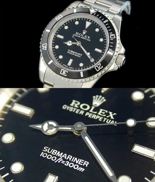 Fake Rolex Submariner 14060 - Contrefaçon