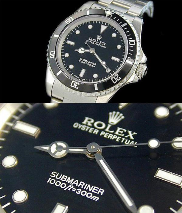Fake Rolex Submariner 14060 - Contrefaçon