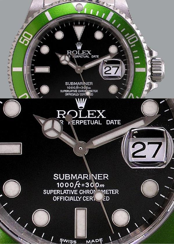 Rolex Submariner 16610 LV modèle original