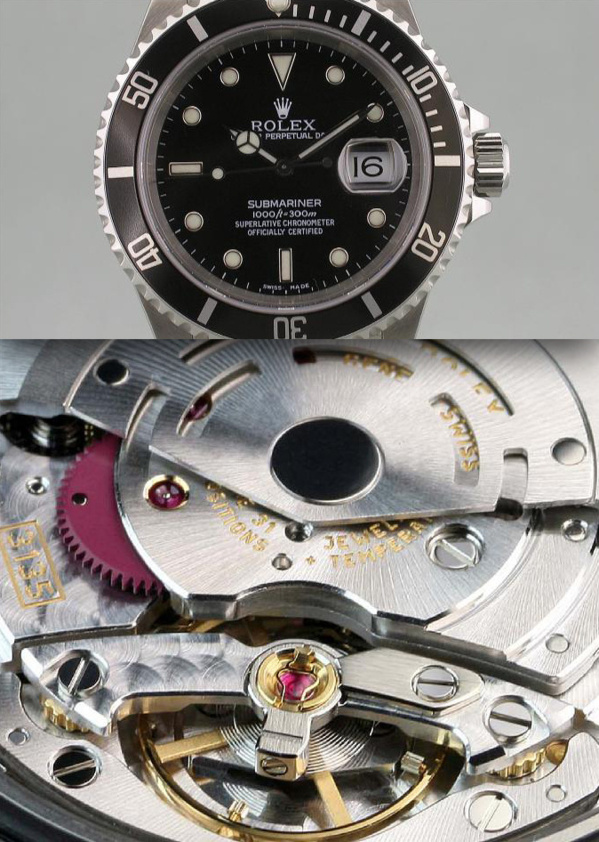 Modèle original Rolex Submariner 16610