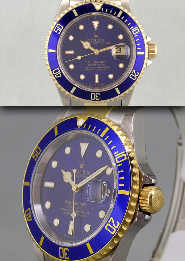 Modèle original Rolex Submariner 16613