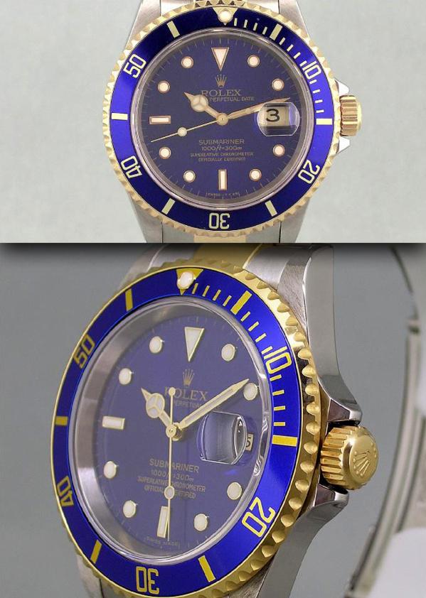Modèle original Rolex Submariner 16613