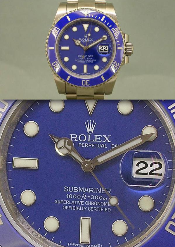 Roles Submariner 116619 originale