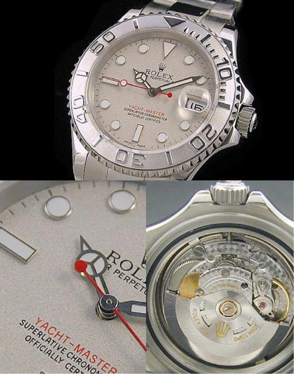 Fake Rolex Yachtmaster - Contrefaçon