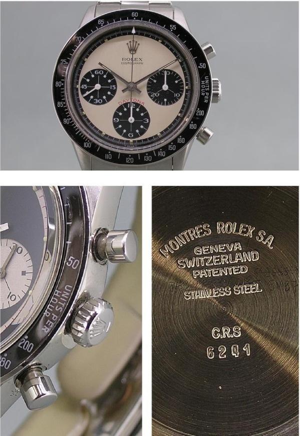 Montre originale Rolex Daytona 6241 Paul Newman
