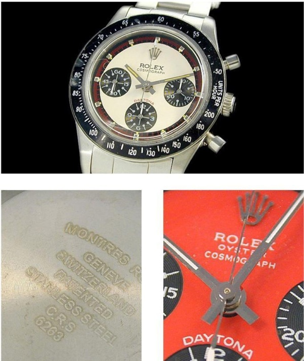 Fake Rolex Daytona 6241 Paul Newman - Contrefaçon