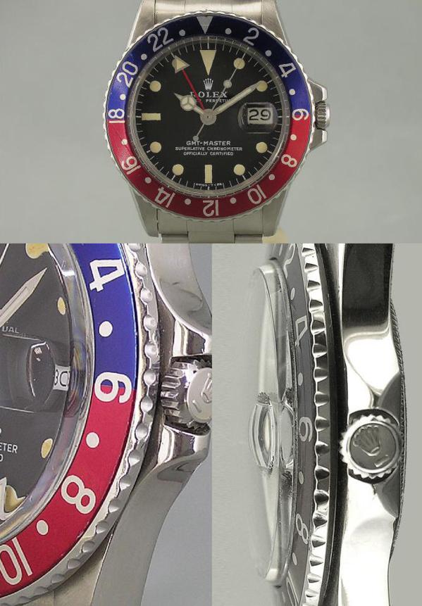 Montre originale Rolex GMT Master 1675