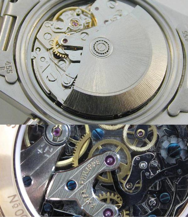 Faux mouvement chronograph équipant les fausses Rolex