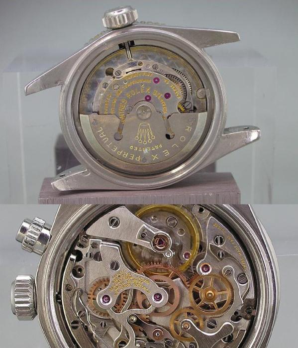Mouvement vintage originaux Rolex