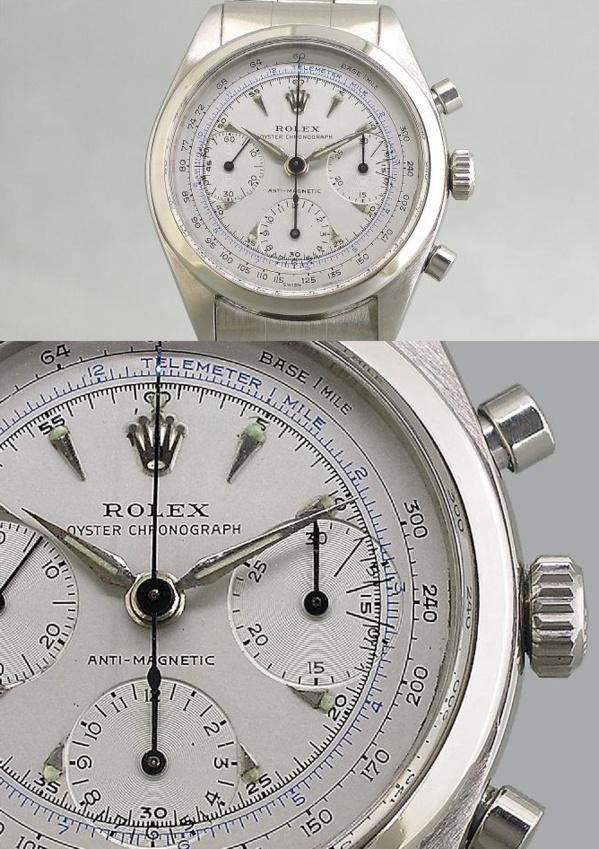 Montre Rolex pre-Daytona chronographe - ORIGINALE