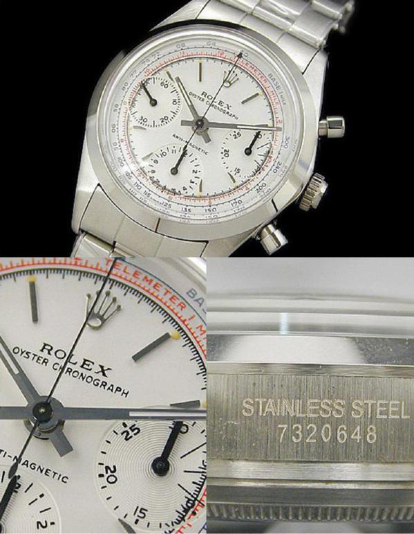 Fake Rolex pre-Daytona chronographe - CONTREFACON