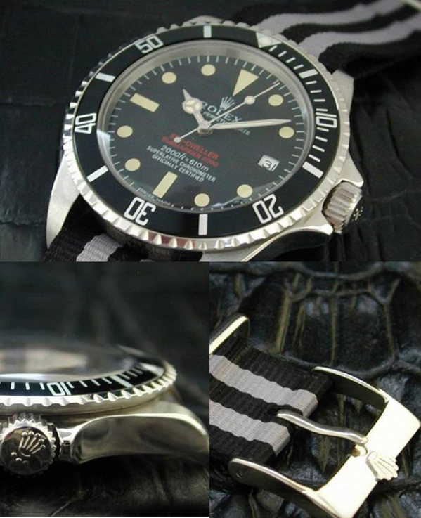 Fake Rolex Sea-Dweller 1665 Double-Red - Contrefaçon
