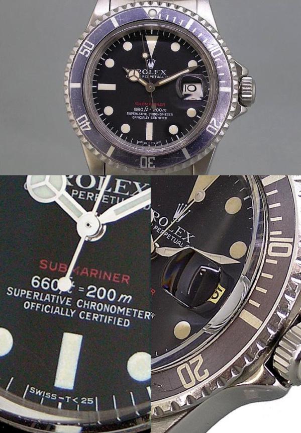 Montre originale Rolex Submariner 1680