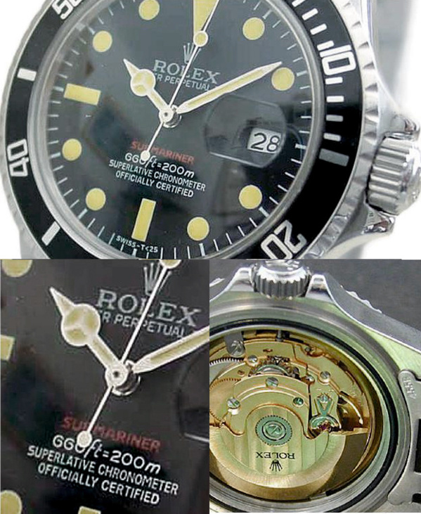 Fake Rolex Submariner 1680 - Contrefaçon