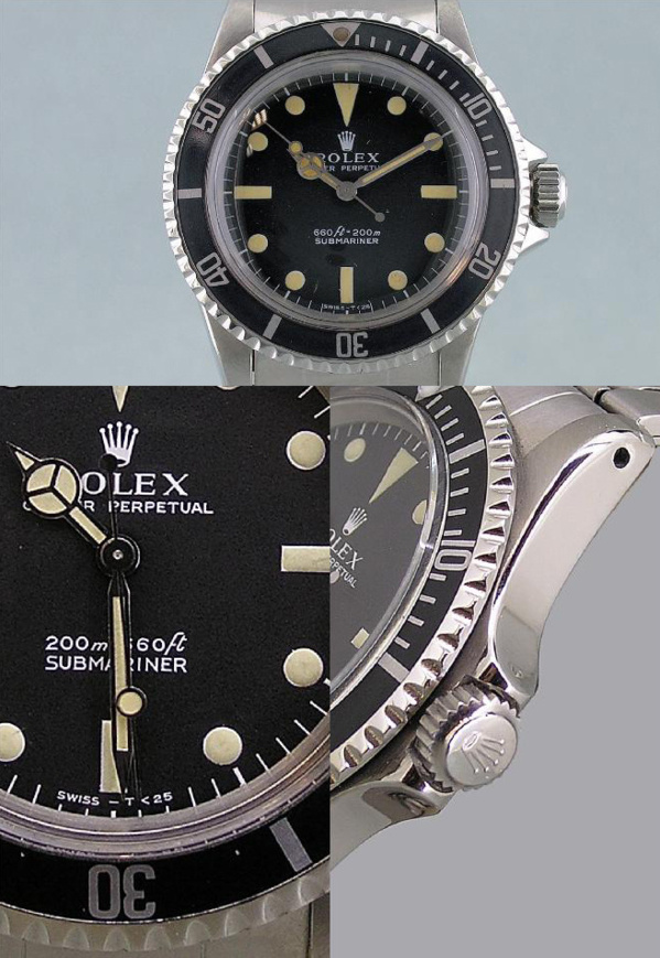 Montre Rolex Submariner 5513 originale