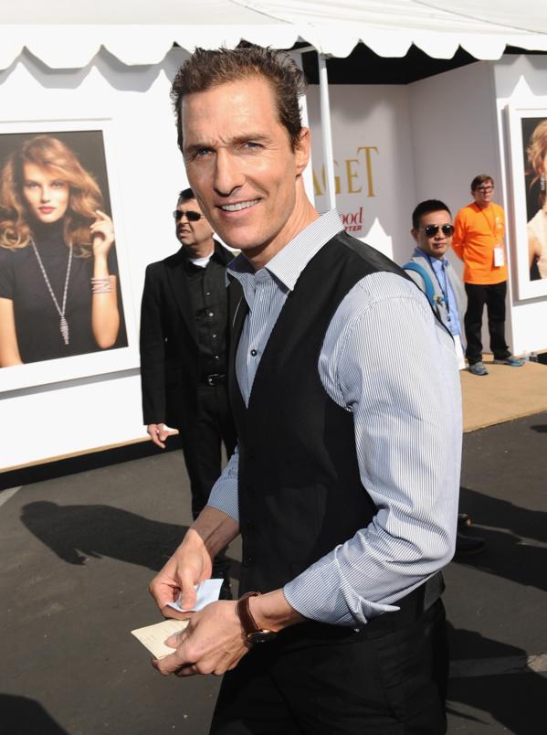 Matthew McConaughey - Piaget Altiplano.