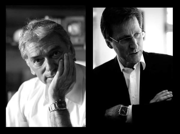 A la tête de Parmigiani Fleurier, Jean-Marc Jacot (gauche) et Michel Parmigiani (droite)