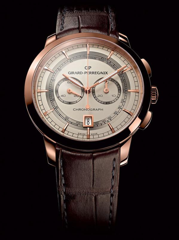 Girard-Perregaux 1966 chronographe - nouveau calibre Maison très honorable