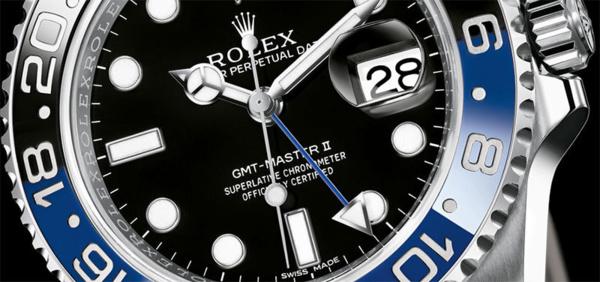 Rolex GMT Master II bleu et noir