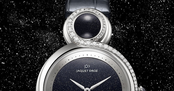 Jaquet Droz Lady 8 acier - Baselworld 2013