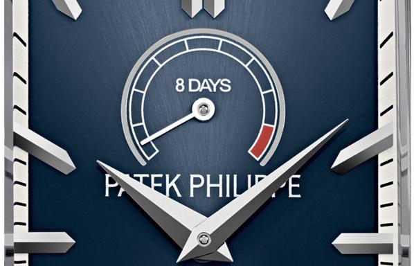 Réserve de marche 8 jours Patek Philippe Gondolo 8 Days