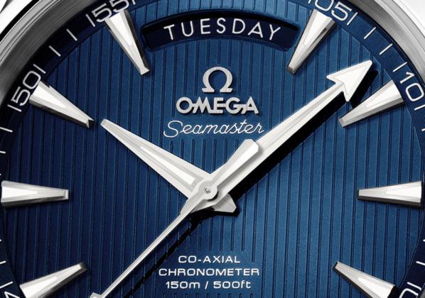 Omega Aqua Terra 2013 Jour-Date