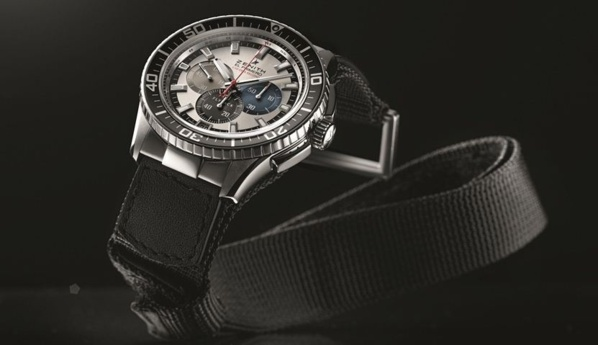 El Primero Stratos Flyback Striking 10th Tribute To Felix Baumgartner
