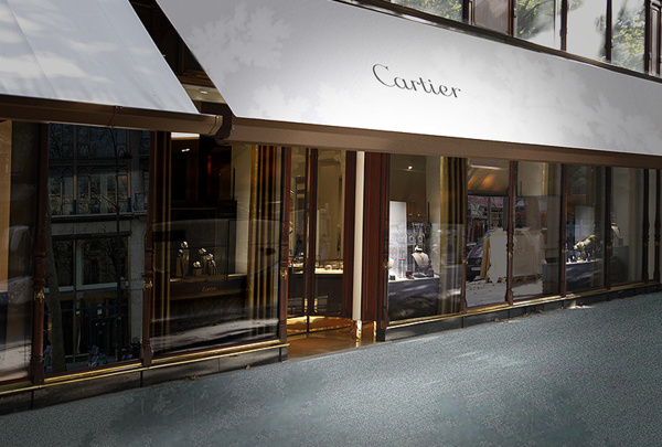 ouverture d 39 une neuvi me boutique parisienne pour la maison cartier. Black Bedroom Furniture Sets. Home Design Ideas