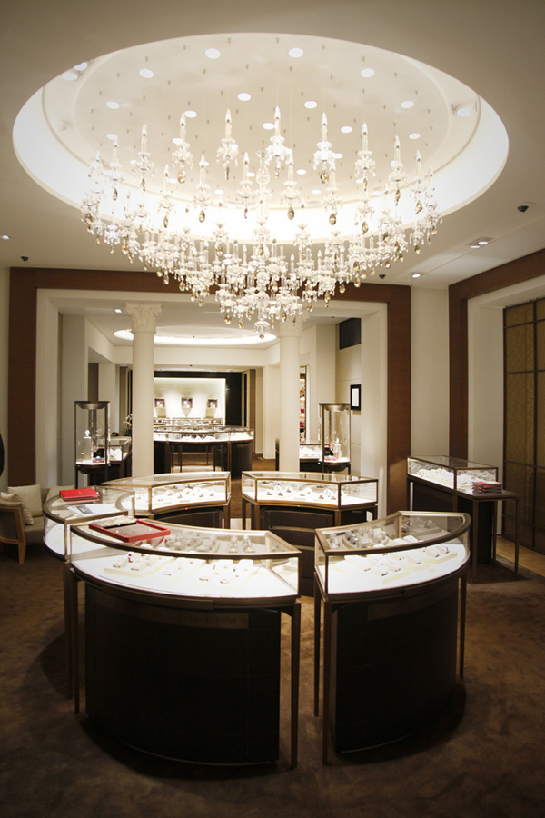 Nouvelle boutique Cartier boulevard des Capucines