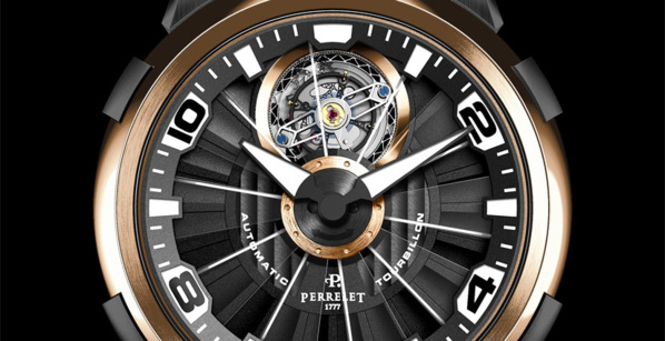 Perrelet Turbillon - mouvement tourbillon