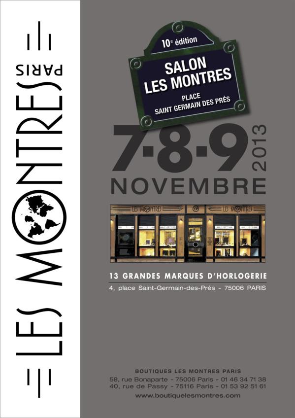 Le salon Les Montres fête ses 10 ans