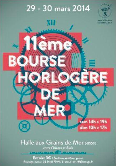11ème Bourse Horlogère de Mer - 29-30 mars 2014