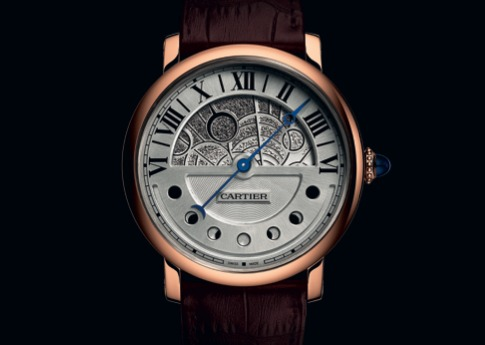 Montre Rotonde de Cartier Jour et Nuit version nuit