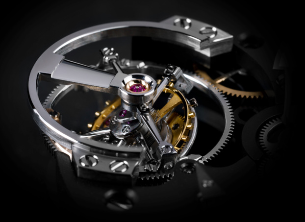GREUBEL FORSEY Double Tourbillon Asymétrique : nouvelle interprétation du Double Tourbillon 30°
