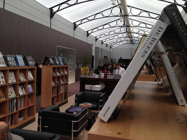 Baselworld 2014 - Watchprint Bookshop - Faites le plein d'ouvrages horlogers