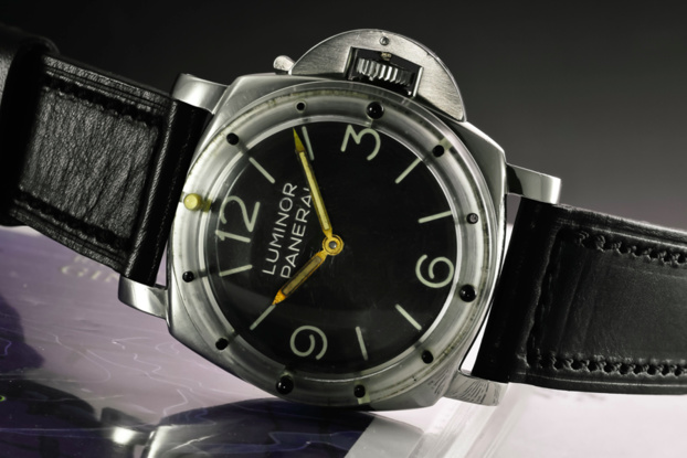 Un modèle rare de Luminor Panerai vendu aux enchères chez Sotheby's Genève pour CHF 425 000
