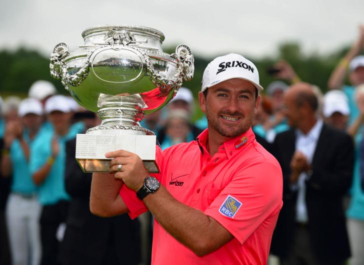 Le golfeur Graeme McDowell, ambassadeur Audemars Piguet, conserve son titre à l'Open de France