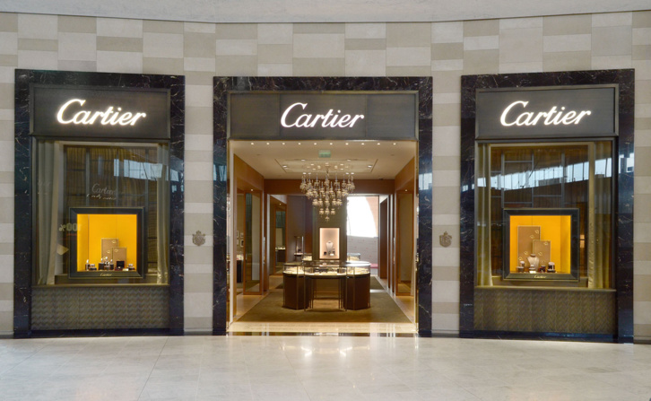 Boutique Cartier Roissy aéroport.