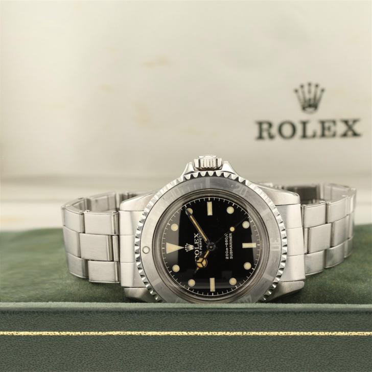 Rolex Submariner 5513 avec boîte