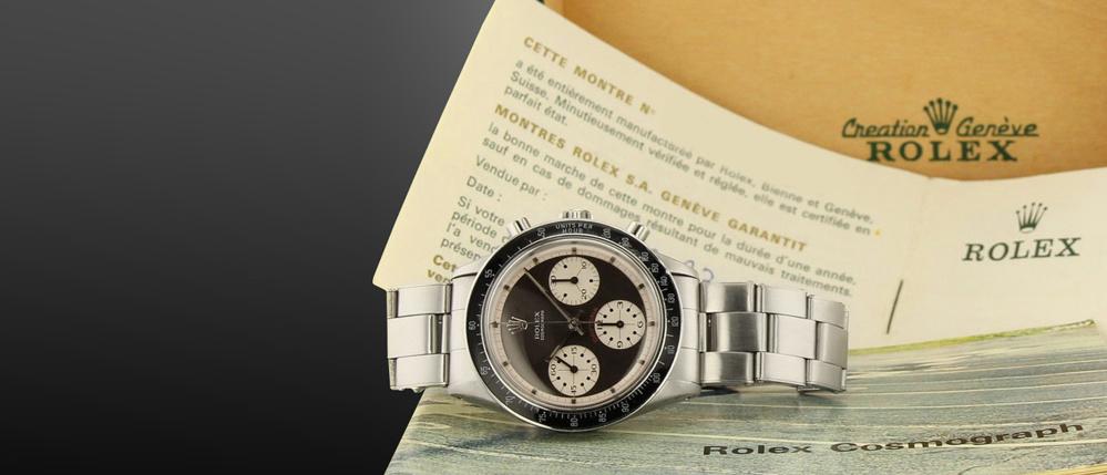 Rolex Daytona Paul Newman 6241 mouvement Valjoux 722