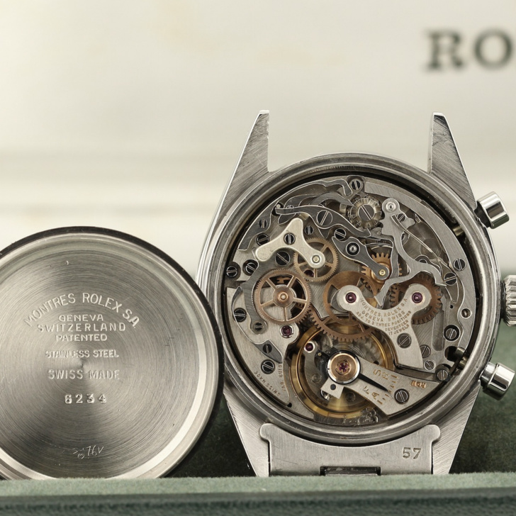 Rolex reference 6234 calivre Valjoux Rolex 72