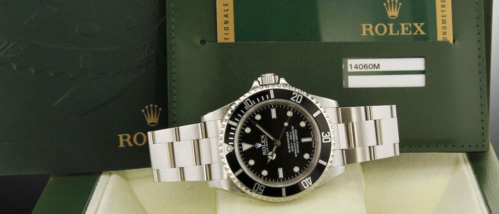 Rolex Submariner 14060 occasion