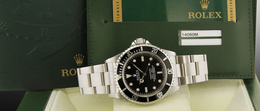 Rolex Submariner 14060 occasion