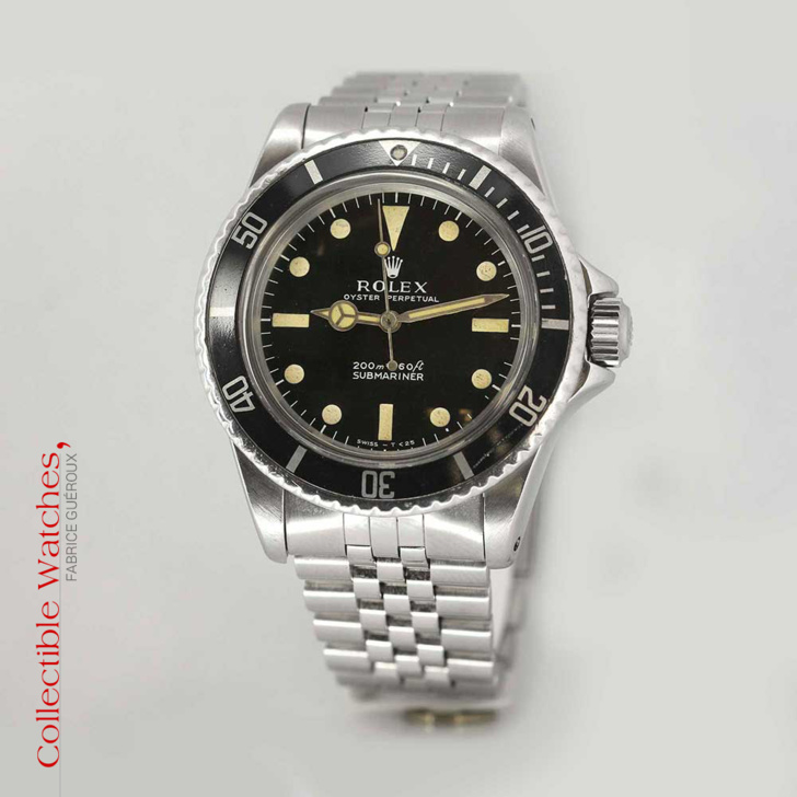 Rolex Submariner référence 5513 Occasion