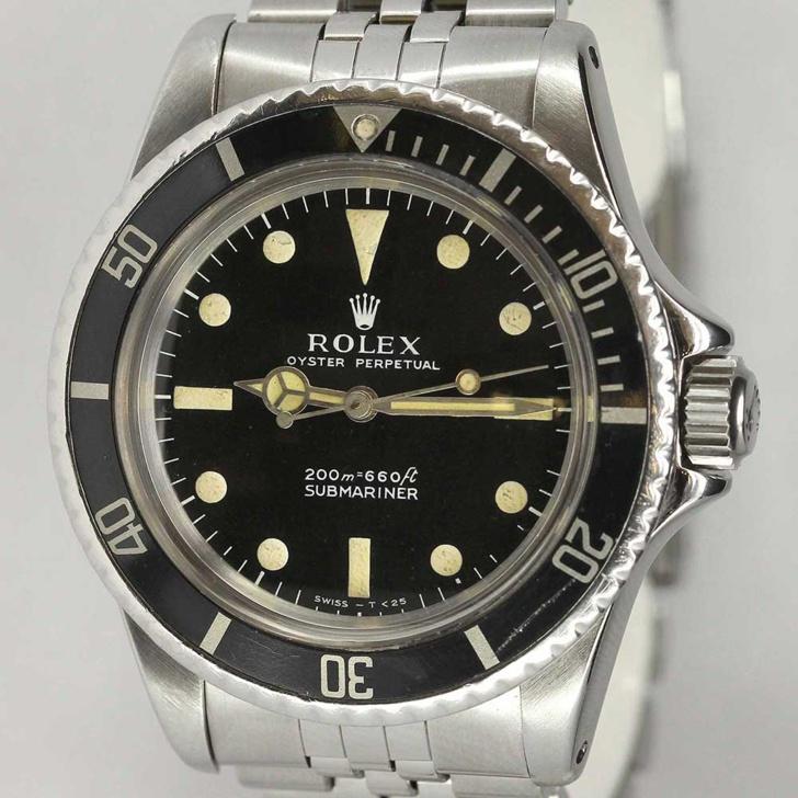 Rolex Submariner Ref. 5513 jubilee