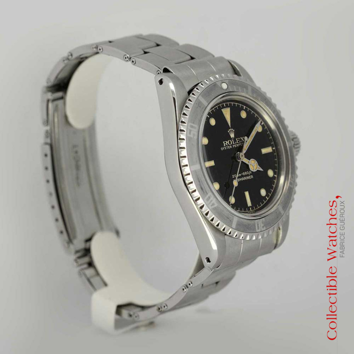 Rolex Submariner 5513 Guilt Dial For Sale