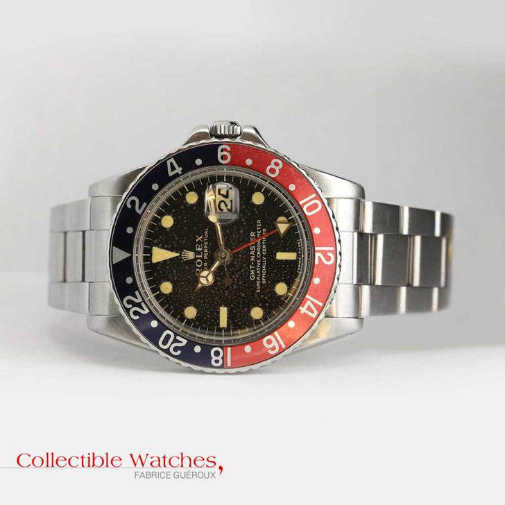 Rolex GMT-Master référence 1675 lunette pepsi Occasion