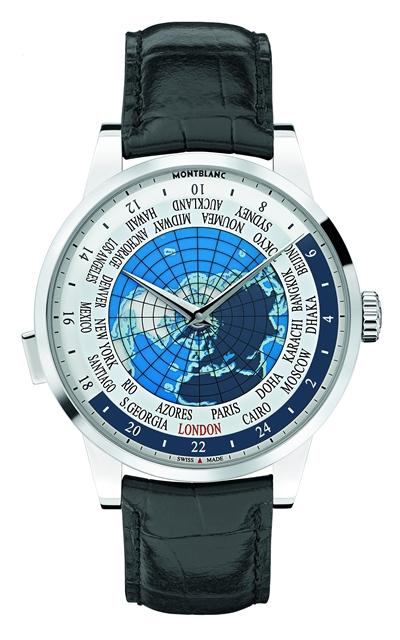 Montblanc Heritage Spirit Orbis Terrarum : Une montre innovante affichant un worldtime pour les voyageurs élégants